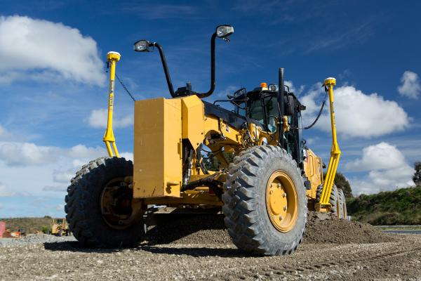 Earthworks Grade Control Platform version 1.7 has support for motor graders and automatic guidance for tiltrotator attachments.