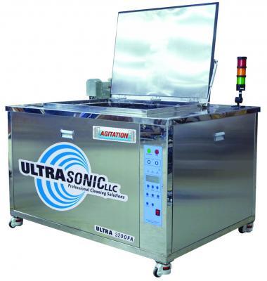 Ultrasonic 3200FA Cleaner Features 55-Gallon Main Tank Capacity