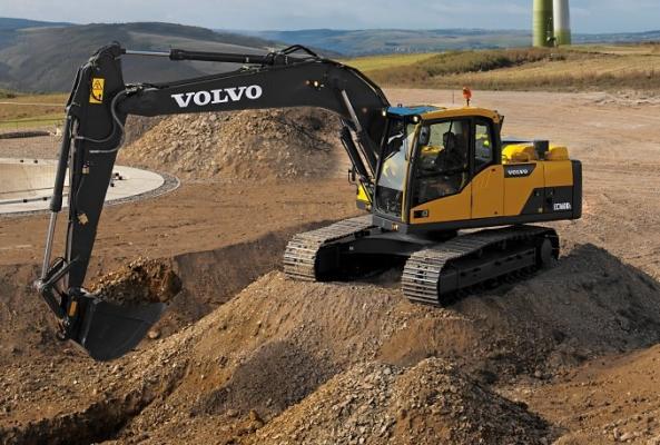 Volvo EC140D, EC160D, EC220D Excavators | Construction Equipment