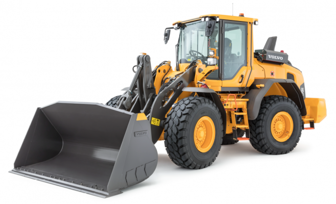 H-Series 2.0 updates have been made to the Volvo L70H wheel loader