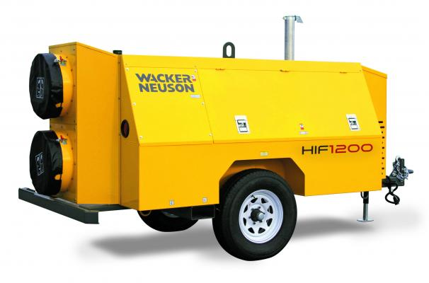 Wacker Neuson Flameless Heaters