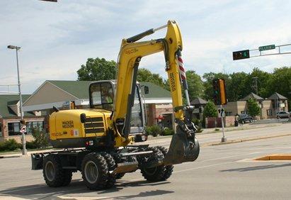 Wacker Neuson 6503, 9503 Wheeled Excavators | Construction Equipment