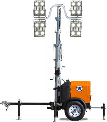 The WALi compact light tower allows users to fit up to 18 units on a single truck.