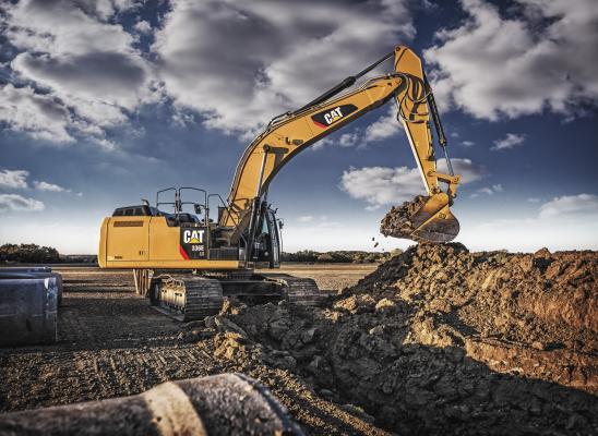 Caterpillar 336E H Hybrid Excavator Construction Equipment
