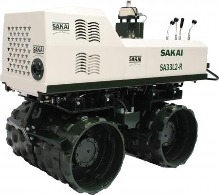 Sakai SA33L2-R Trench Roller Has Standard Infrared Remote