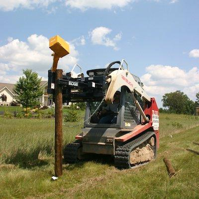 EDGE Post Pounder and Puller | Construction Equipment