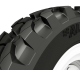 Developed for construction machinery such as compact loaders and backhoes, the A585 is designed to offer traction on dry, wet, and wintery surfaces, puncture resistance, and low wear when used on hard and highly abrasive surfaces.