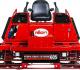 Allen Engineering HDX605 trowel is powered by a 57-horsepower Kubota gasoline engine