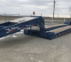 Talbert 60CC/55SA-LD gooseneck trailer has a capacity of 60 tons