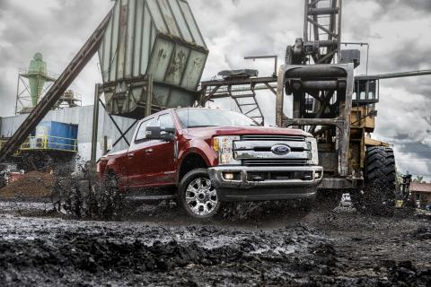 SuperDuty pickups went with aluminum bodies from the F-150 series for the 2017 model year and have been well received by customers