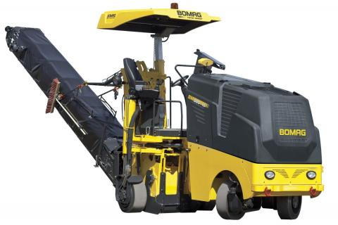Aging Pavements, Highway Bill Keep Milling Machines Grinding