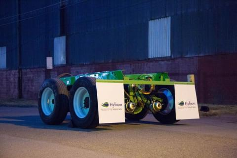 Hyliion Hybrid Trailer Tandem Adds Drive