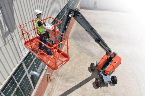 Aerial lift market is up.