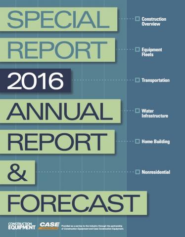 2016 Annual Report & Forecast
