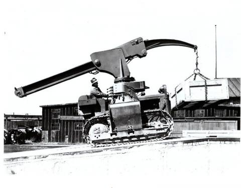 "The ""Anteater"" Rough-Terrain Crane"