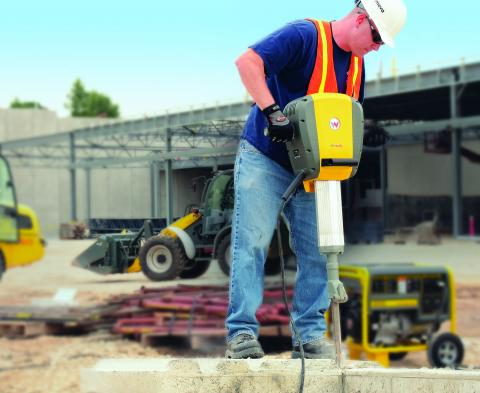 Drilling into concrete can expose workers to silica dust from sand and rock, which can damage the lungs if inhaled. Drilling also exposes workers to hand vibration and noise at levels well above recommended limits.