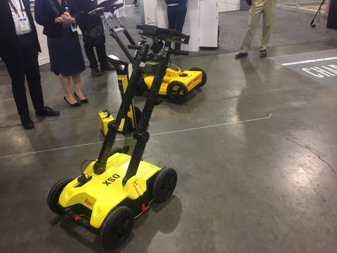 """Swedish tech company Hexagon hosted 3,000 of its customers and partners from around the world in a Las Vegas event billed as """"HxGN Live,"""" a showcase for its multi-industry technology that included 500 educational sessions, hands-on training, nine different keynotes, and a couple of noteworthy high-tech products for construction and mining applications."""