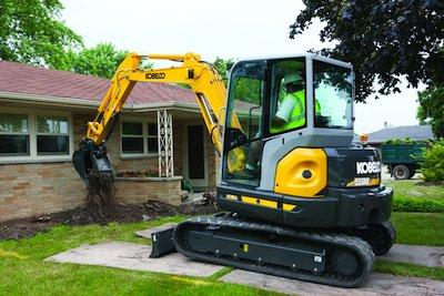 Kobelco Compact Excavator Boasts Big Machine Benefits | Construction