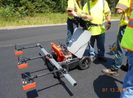 MaineDOT uses PaveScan RDM