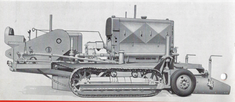 In the early 1930s, Madsen began development of its Road Pug roadmixer