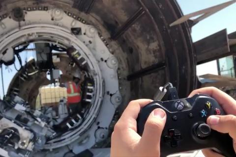 The Verge has reported that The Boring Company, which has had a hand in digging some serious tunnels in Los Angeles and Washington, D.C., and recently won a bid to build a high-speed express train under Chicago, can control a section of its boring machine with an Xbox controller.