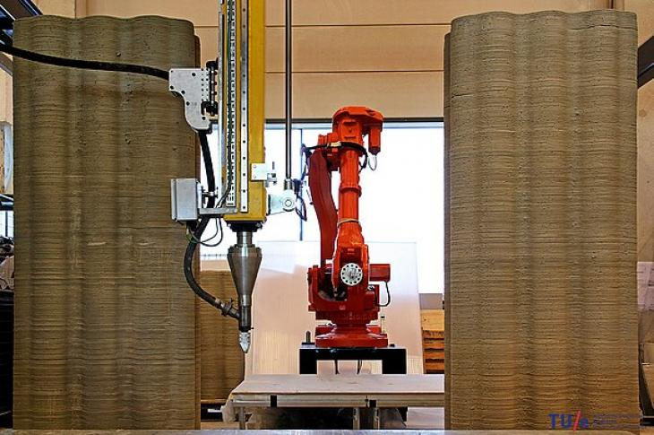 3D printer at the Eindhoven University of Technology. Credit: Eindhoven University of Technology