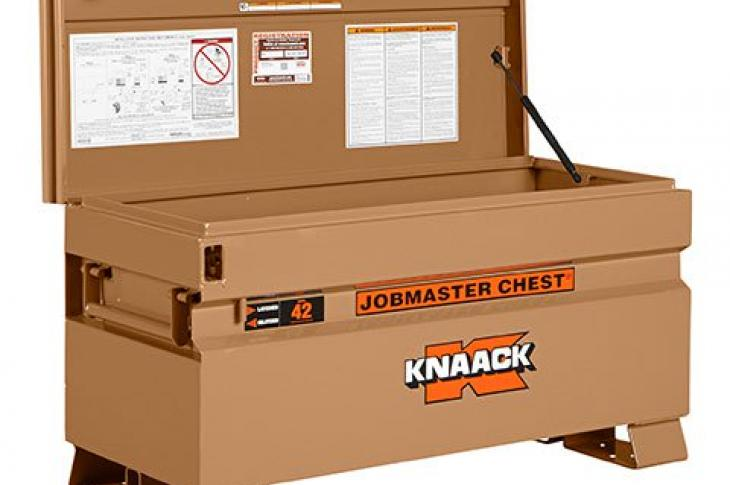 Knaack 3-Sided Easy Grip, Anti-Slam Lids for Storage Chests