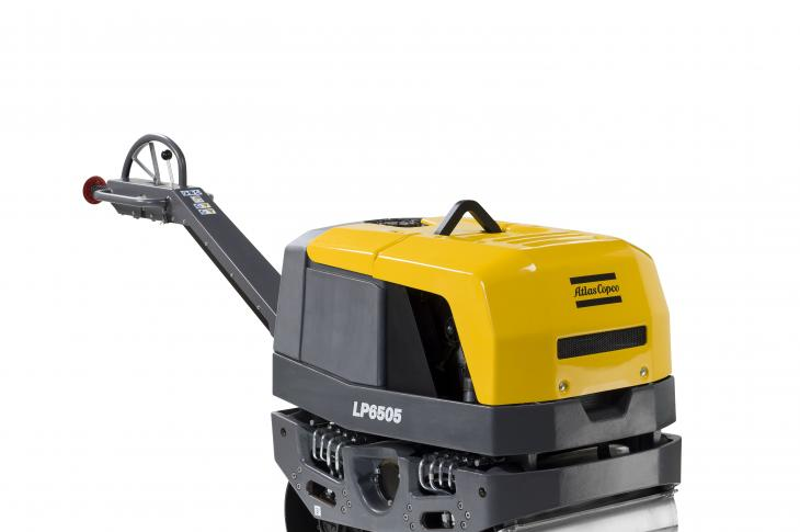 Atlas Copco LP6505 Walk-Behind Duplex Roller is Redesigned