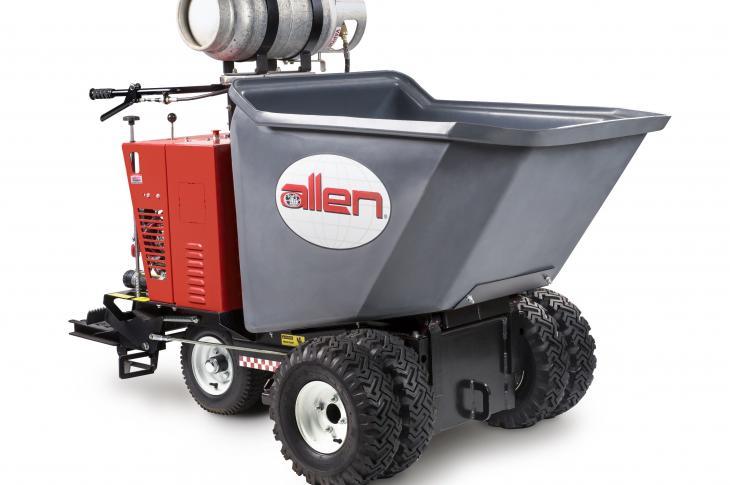Allen Engineering AR16 Wheel Buggy Powered by Propane