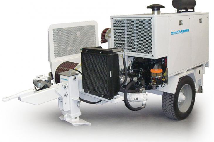Condux Tesmec ARS709 Hydraulic Puller