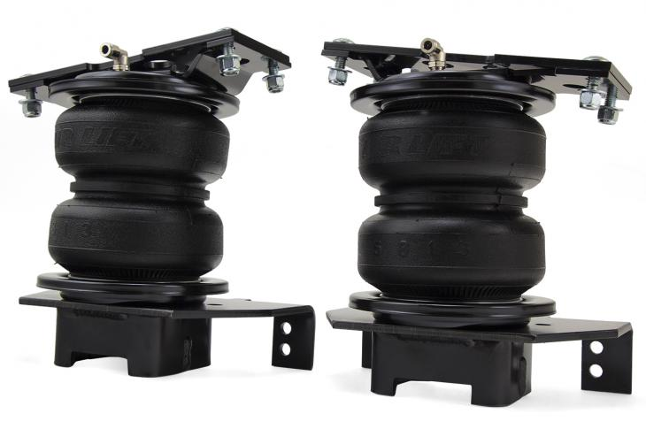 Air Lift has released its heavy-duty LoadLifter 5000 and LoadLifter 5000 Ultimate air spring series for Ford's 2017 F-250 and F-350 Super Duty 2WD pickups.