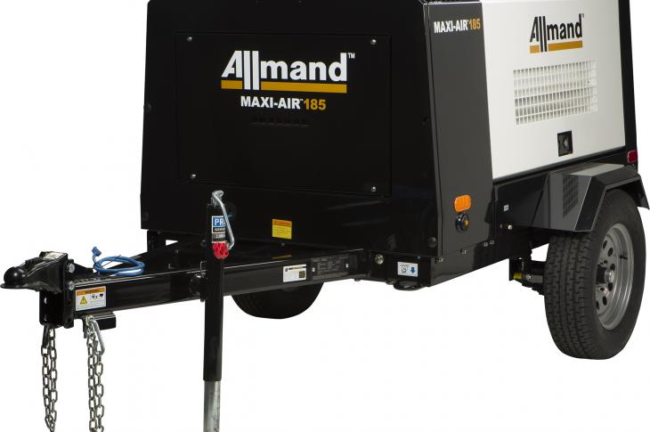 Allmand Bros. adds MA185 and MA400 Air Compressors