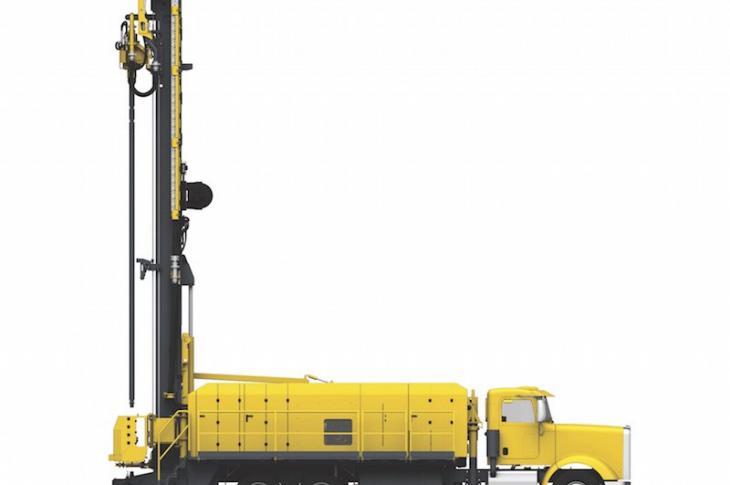 Atlas Copco Diamondback Drill Has Modular Components