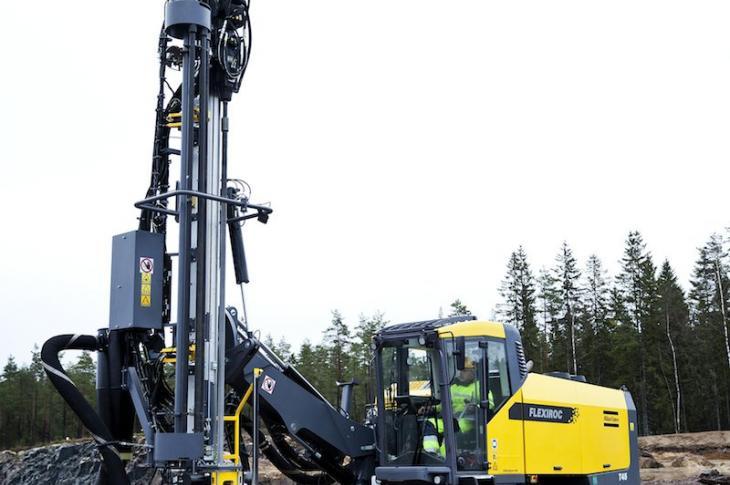 Atlas Copco FlexiROC T45 Drill Rig