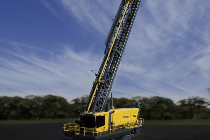 Atlas Copco Pit Viper 311 Blasthole Drill for Holes up to 125 Feet