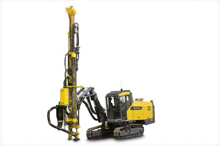 Atlas Copco SmartROC T45 Drill with GNSS Navigation