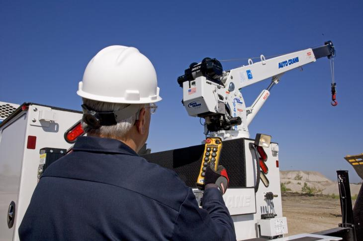 Auto Crane NexStar Crane Management System Provides Load Monitoring