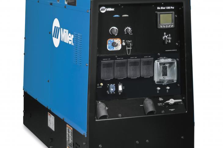 Miller Electric Big Blue 600 Pro Welder/Generator Goes Tier 4-Final, Gains Power