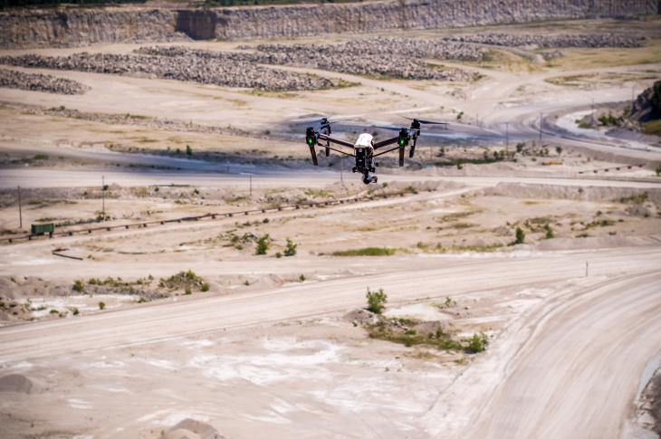 BlastMetriX UAV program allows quarries and mining operations to capture 3D face profiles