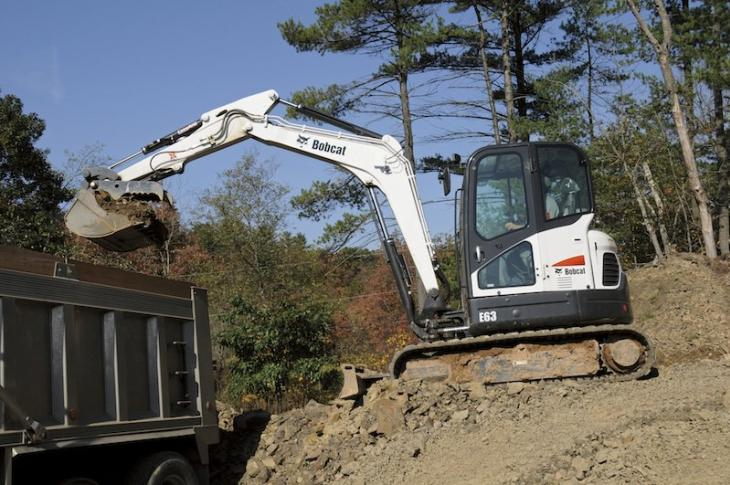 Bobcat E63 Becomes Second Largest Excavator Line