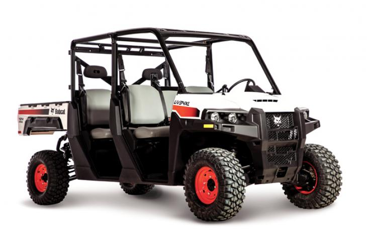 Bobcat UV34XL has a payload of 2,075 pounds