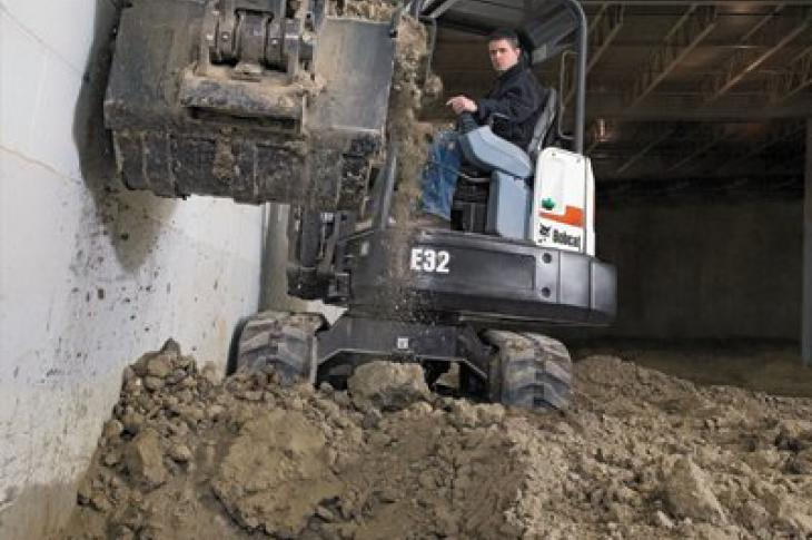 Your Next Backhoe Could Be A Mini Excavator
