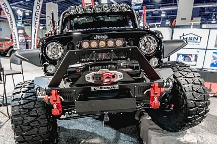 BOLT/Go Rhino Total Bumper System Jeep Models