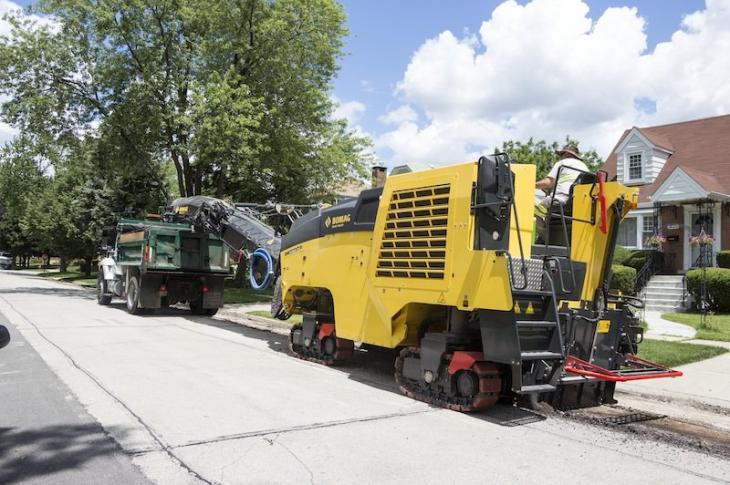 Crumbling Roads, RAP Maintain Milling Machine Momentum