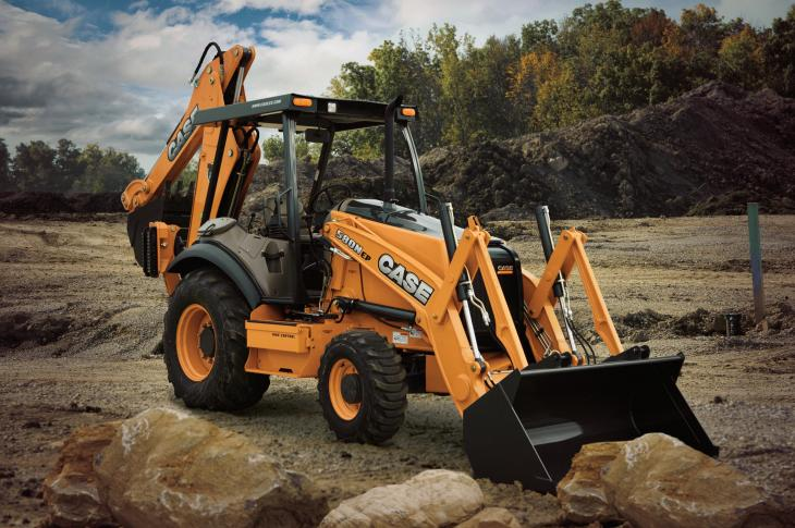 Case 580N EP Backhoe Loader