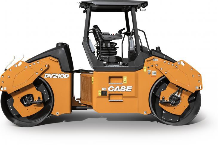 Case DV209D, DV210D Vibratory Rollers With Automatic Vibration Control