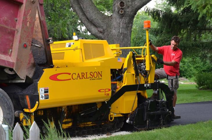 Carlson Adds CP75 Paver to Lineup