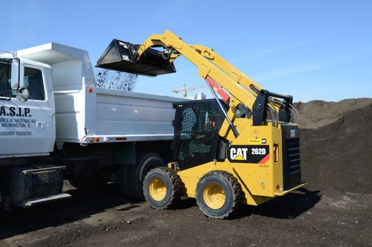 Cat 262D Exhibits Innovative Design, Practical Technology