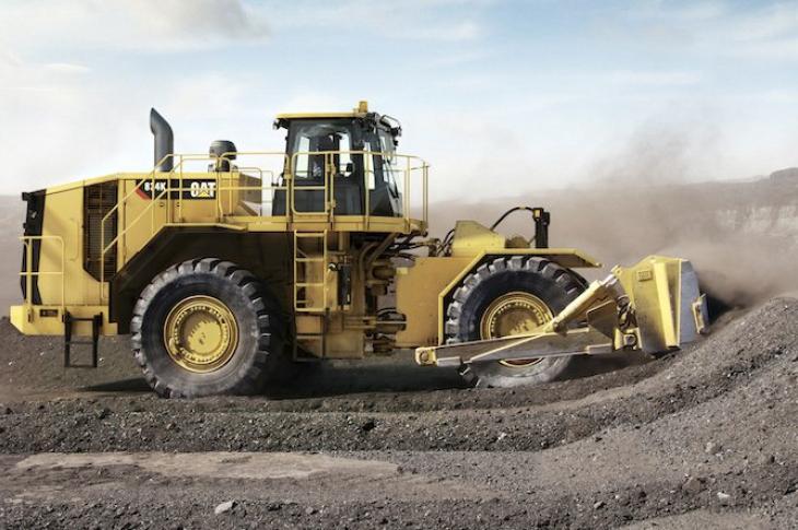 Caterpillar 834 Wheel Dozer