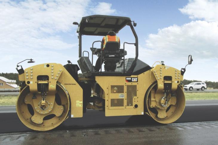 Caterpillar CB64, CB66, CB68 B Series Rollers